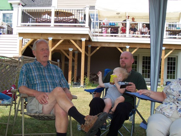 Cousin Phil, Logan and Dad