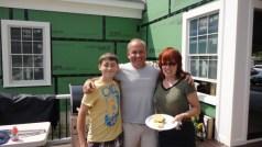 Gabe, Tim and Deb