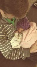 Sophia Rose and Dad Phil Swanson