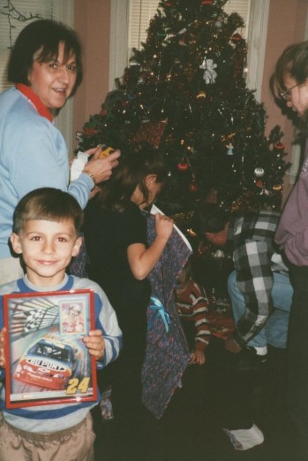 1997 Tille and Myron with kids Christmas
