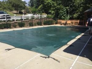 Pool closing