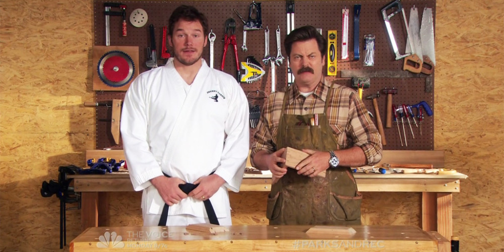 Ron Swanson Woodworking Quotes
