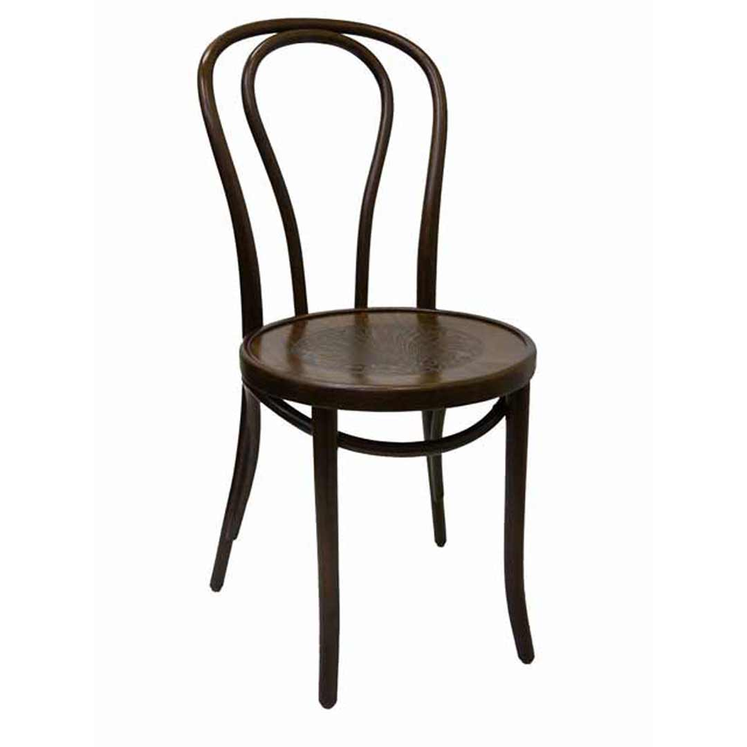 Bent Wood Chairs Thonet Bentwood Fameg Timber Dining Chair Walnut