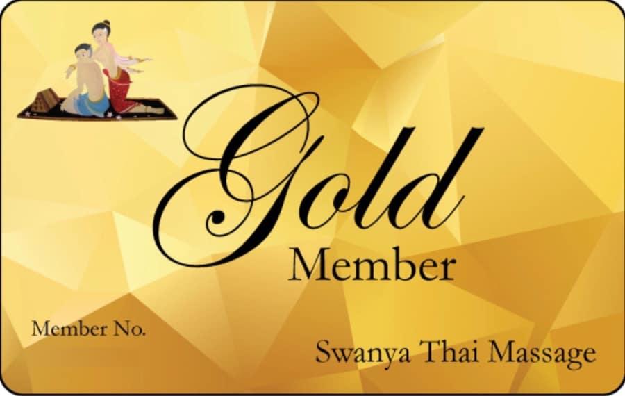 Gold Members Card