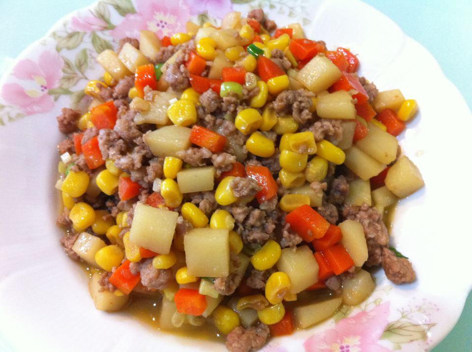 黃粒紅炒絞肉 | Swap A Dish 換換菜煮婦聯盟