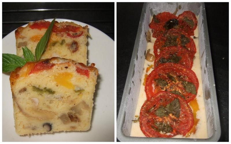 法式鹹蛋糕 | Swap A Dish 換換菜煮婦聯盟