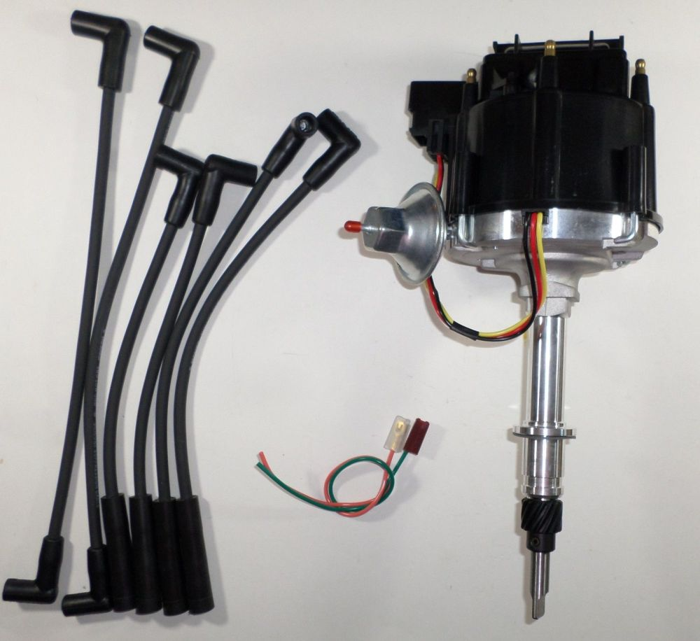 medium resolution of amc jeep inline 6 232 258 6 cylinder hei distributor u0026 black sparkjeep hei wiring