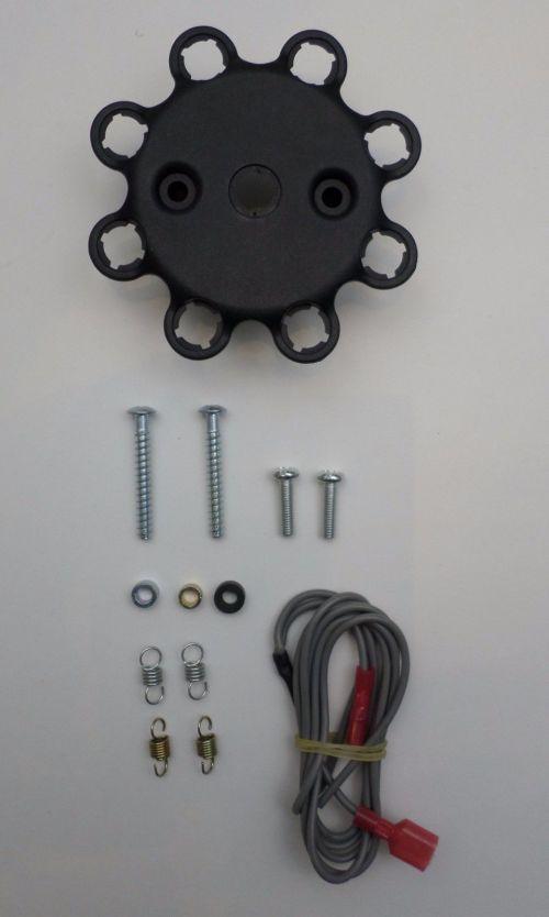small resolution of  oldsmobile 350 400 403 455 black hei distributor 45k volt coil plug wires 1 2