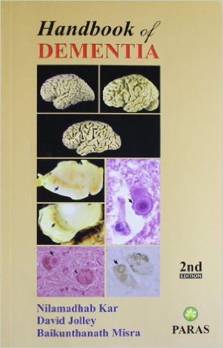 cover of Handbook of dementia