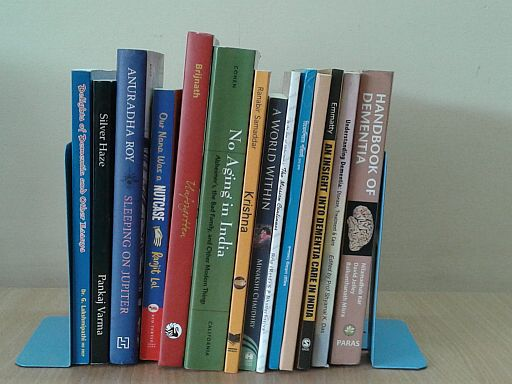 spine-side picture of books discussed in this post