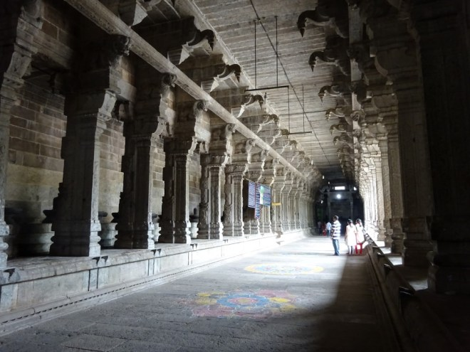 Pillared corridors