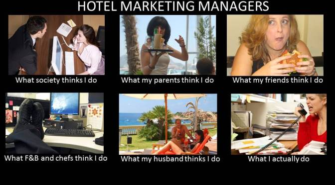 What a hotel's Marketing Manager actually does