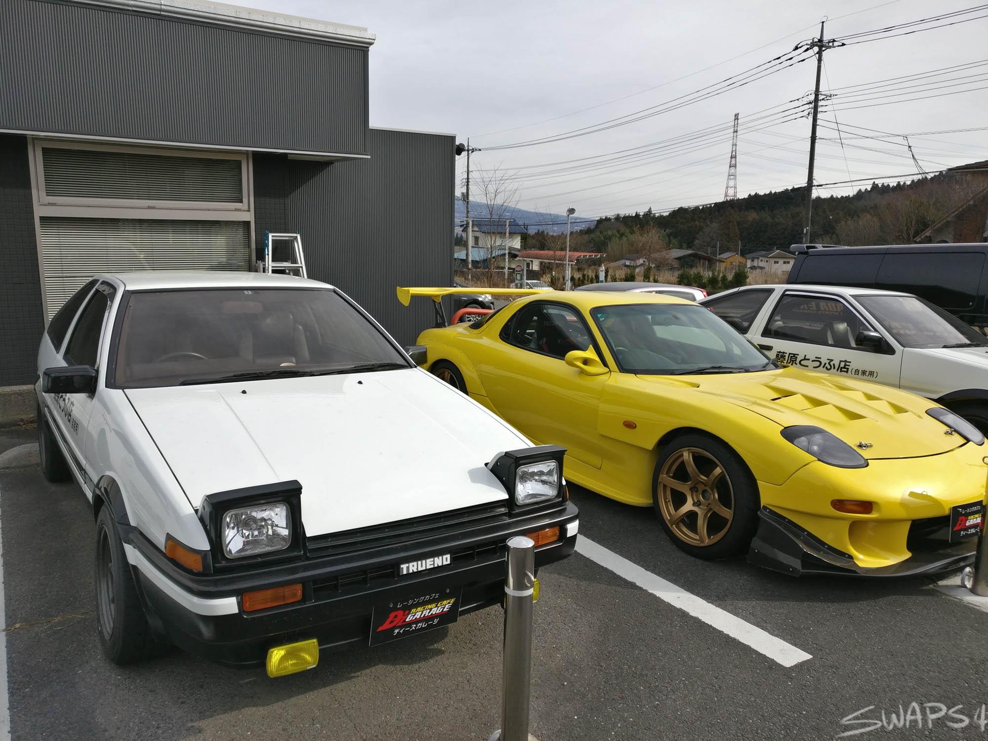 A Trip to D'Z Racing Cafe Garage and the Fujiwara Tofu Shop!