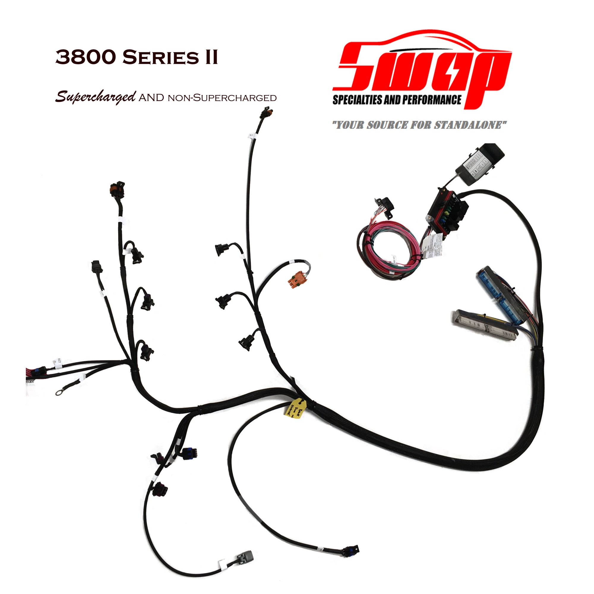 hight resolution of 3800 standalone harness for na and supercharged