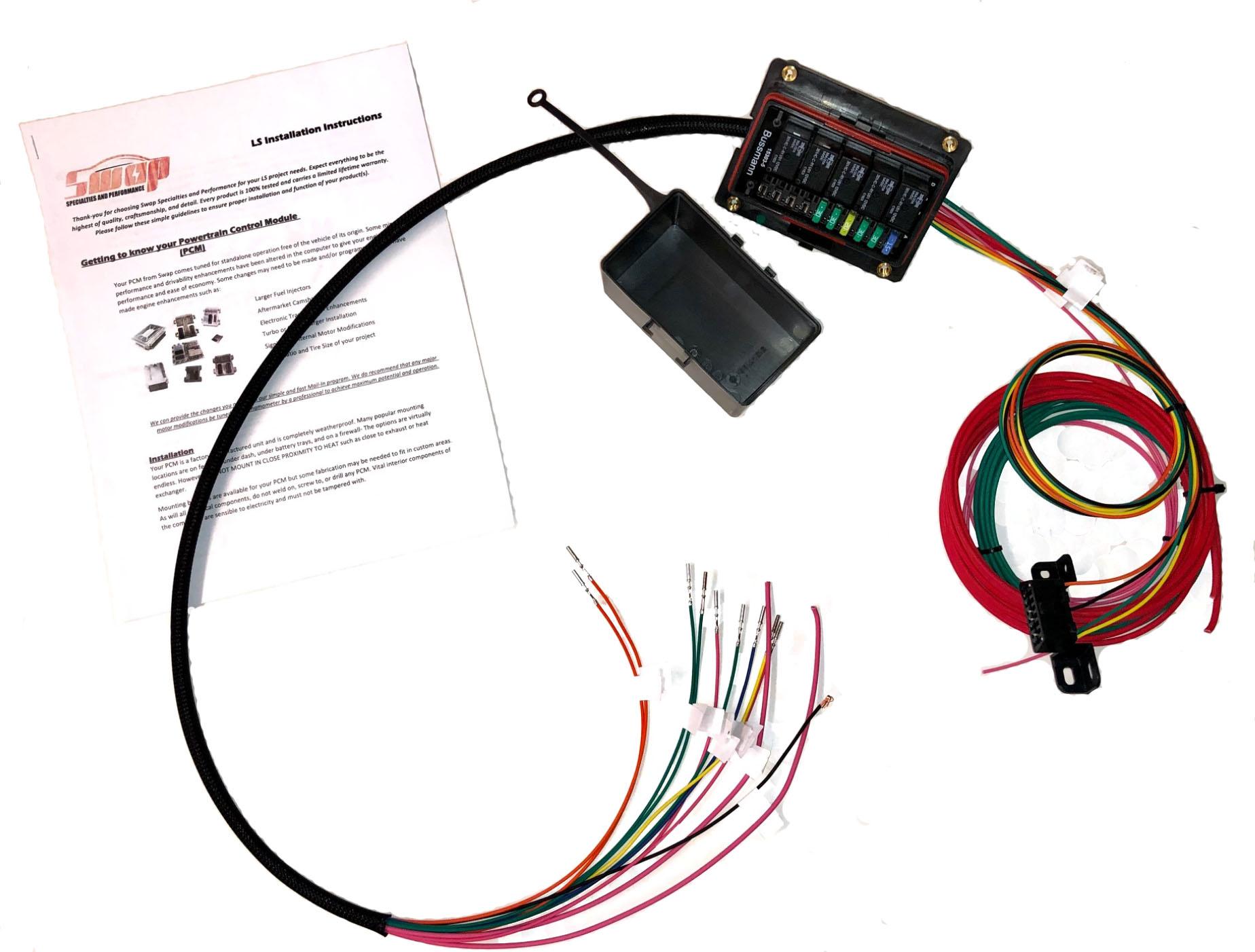 hight resolution of ls diy standalone fusebox and relay kit u2013 swap specialtiesls diy standalone fusebox and relay