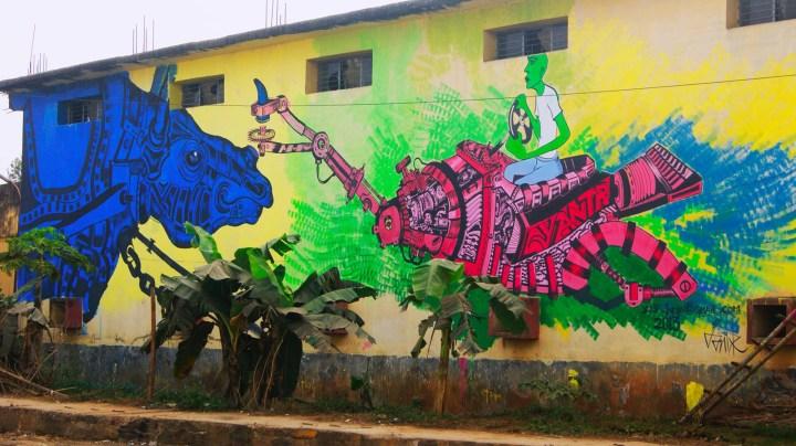 Indian Street Art Series Swaraj