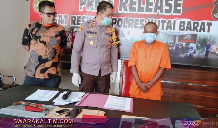Jauh Jauh Dari Balikpapan ke Kubar, SB Dalami Profesi Ngutil Hp Sejak 2019