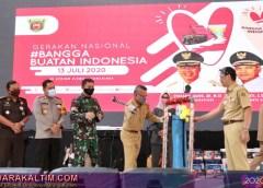 Pertama di Kaltim, Walikota Samarinda Launching Gerakan Bangga Buatan Indonesia