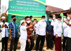 Di Bengkuring, Andi Harun Pribadi Sumbang Rp 25 Juta untuk Bangun Masjid