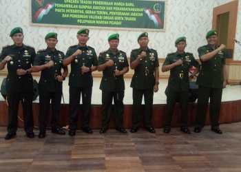 Gerbong pejabat Kodam II/Sriwijaya bergerak. Tiga  Komandan Kodim Gapu dan satu Perwira Menengah (Pamen) jajaran Korem 042/Gapu berganti.