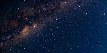 Galaksi BIma Sakti. (Yoga Hastyadi Widiartanto/Kompas.com)