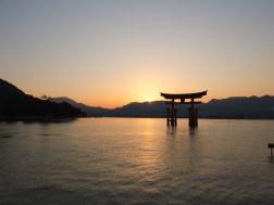 Itsukushima Shrine's Torii Gate