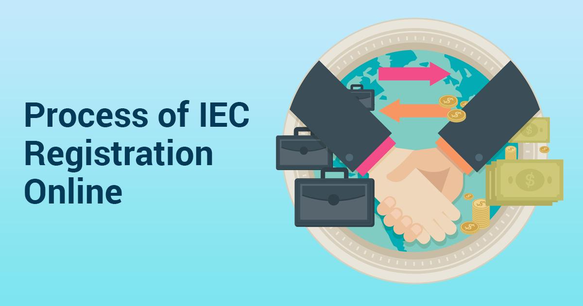 Process of IEC Registration Online
