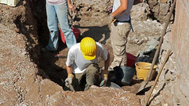"""Британские археологи обнаружили легендарный """"Город великанов"""""""