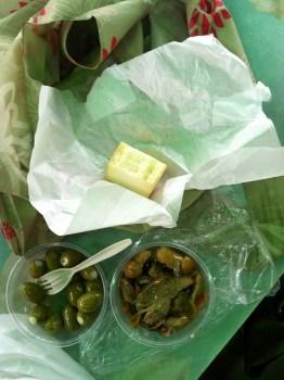 Snacks bought at Jean Talon