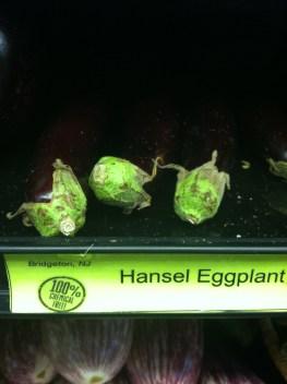 chemical free eggplant