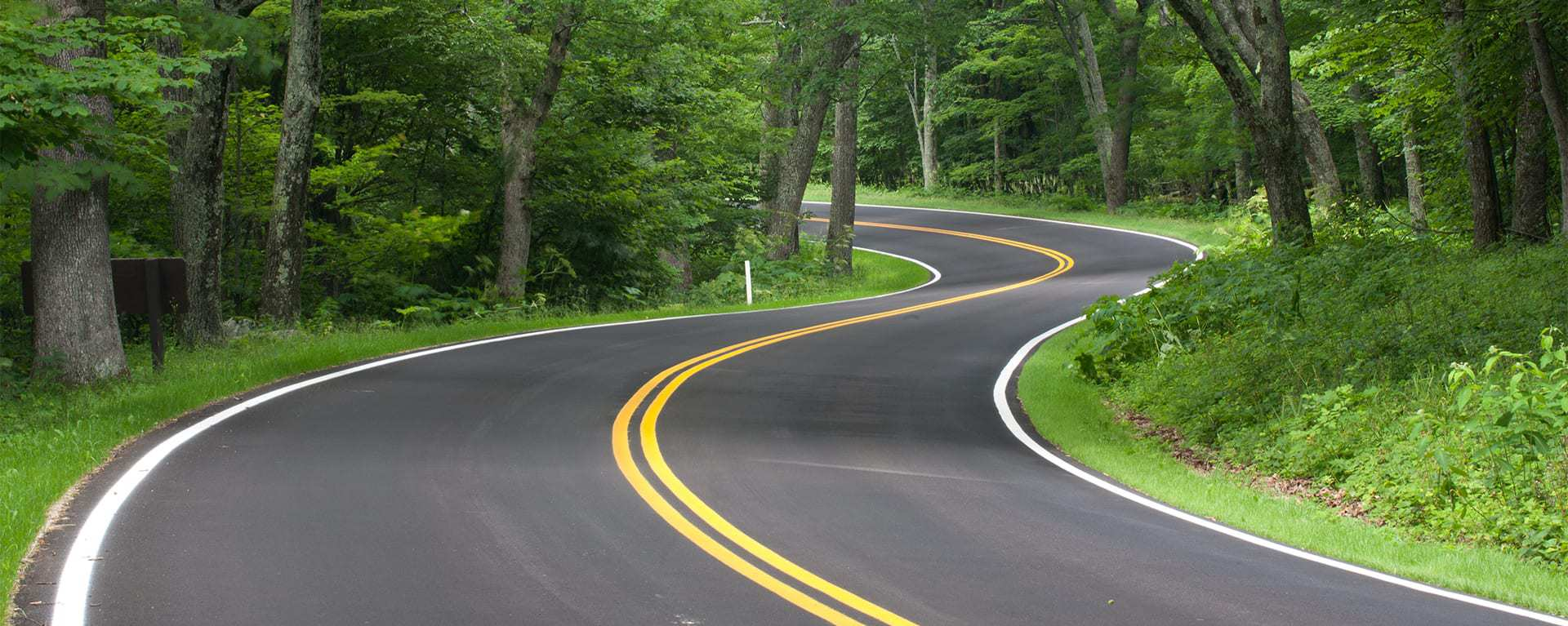 Image of a winding road, depicting the technology paths Swartz Consulting can help you navigate