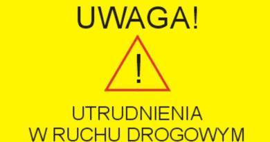 W piątek, 7 grudnia, ul. Transportowa będzie zamknięta dla ruchu