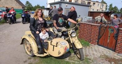 150 motocykli i 500 magnesów: Swarzędz też pomógł