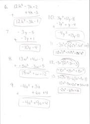 Alg Study Guide 8-1/8-2