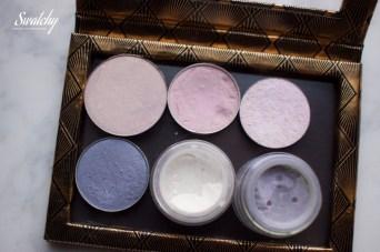 Nabla Pegasus, MAC Seedy pearl, The Body Shop eye shimmers Copper, MAC PArisienne, Femme fatale Fire opal, Femme fatale Floating gems