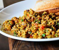 Spicy Anda Bhurji