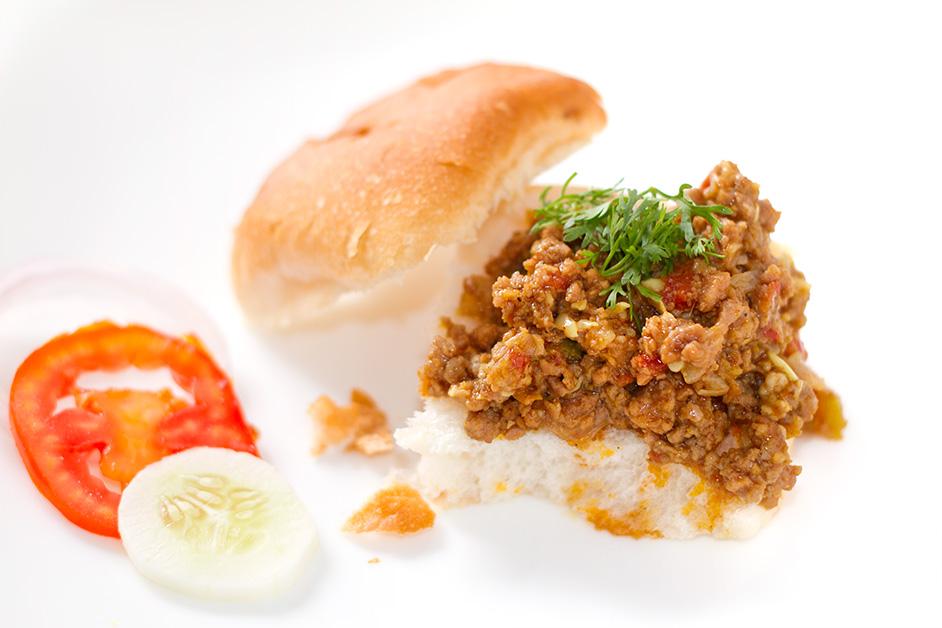 Keema Pav   Swati's Kitchen