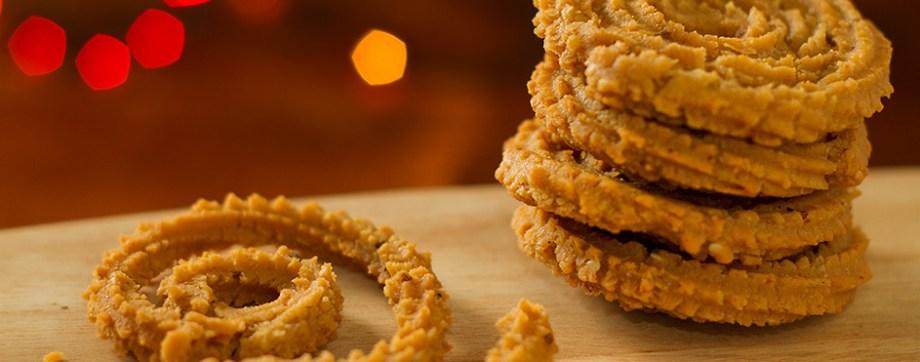 Chakli - a crispy crunchy snack