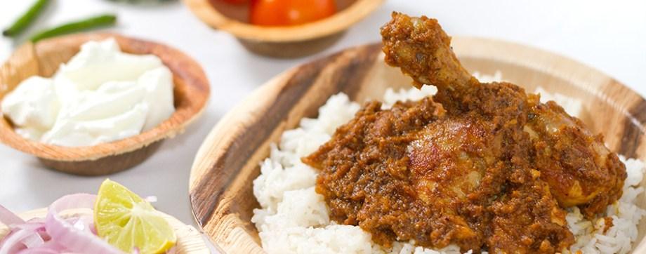 Dahi Elaichi Chicken - Cardamom flavoured chicken in yoghurt sauce