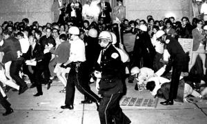 Yippie Protests at the 1968 Democratic National Convention in Chicago