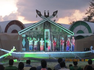 stage for singing