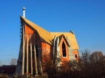 Kościół - widok z28.11.12