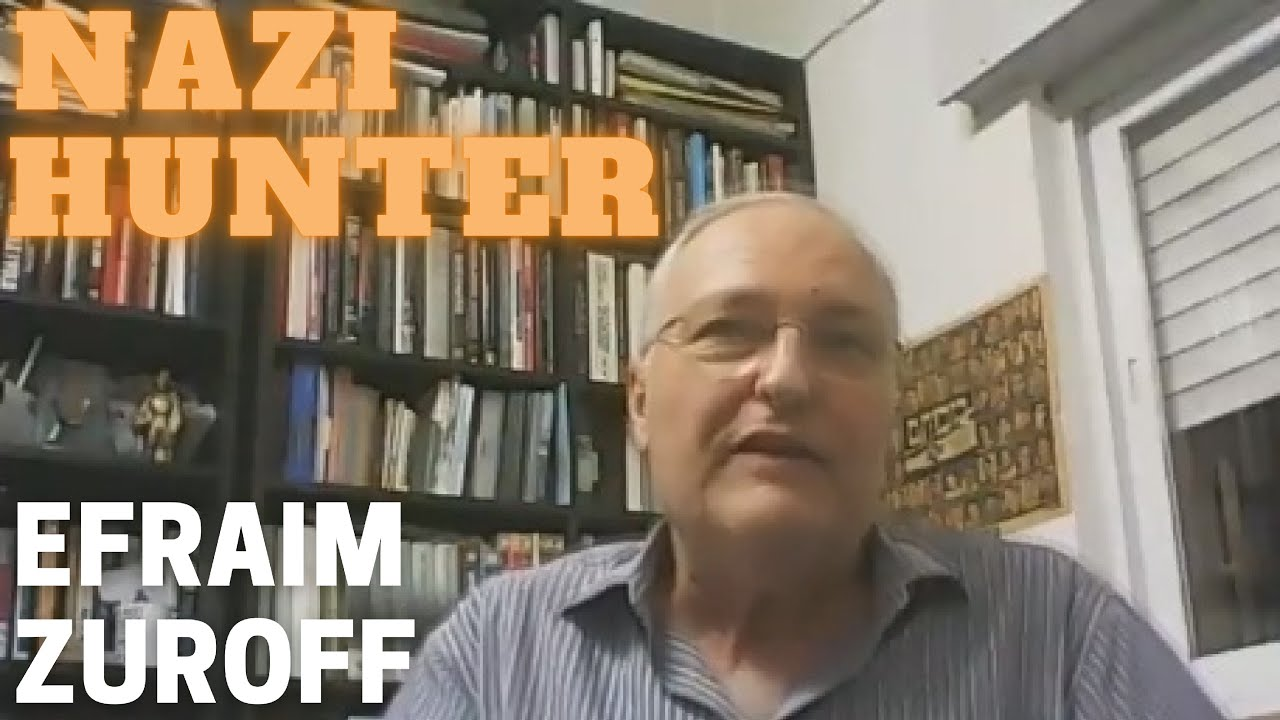 Efraim Zuroff – Hunting Nazi and fascist war criminals for more than 40 years