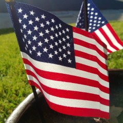 Improve your Front Porch or Garden with A Nylon American Flag