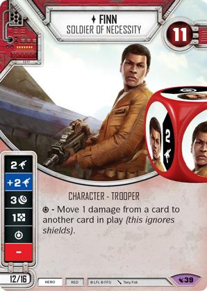 CAMOUFLAGED RIFLE Card Die H Star Wars Destiny Legacies RARE m//nm