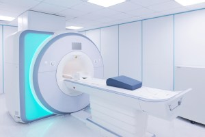 Magnetic resonance imaging scan device in Hospital