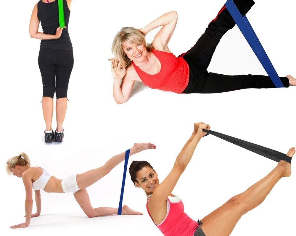 SWEAT by SlimClip Case 58a2a652066f0 Resistance Band Workout