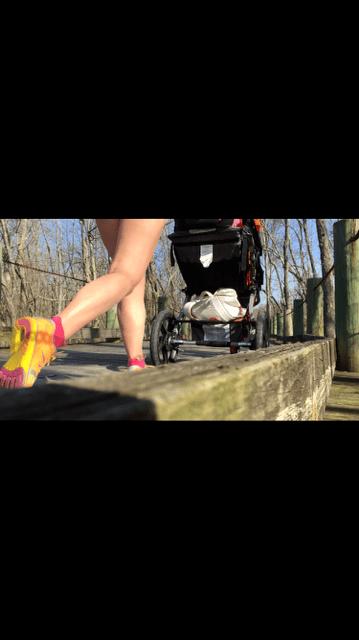 running with Zoe