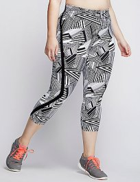 I love the geometric leggings from Lane Bryant.
