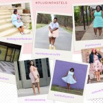 Plus Size Outfit Inspiration: Plus Size Pastels
